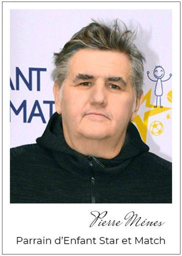 Pierre Ménes, parrain d' Enfant Star et Match